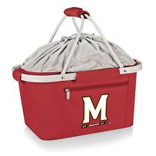University of Maryland Terps Picnic Basket Tailgating Tote Bag