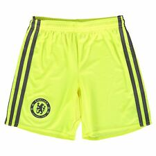 adidas Childrens Kids Football Soccer Chelsea Goalkeeper Shorts 2016-17