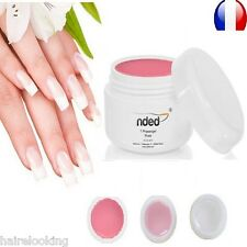 SET ONE PHASE UV GEL 3 IN 1 NDED 0.2 oz BASE CONSTRUCTION FINISHING FOR NAILS