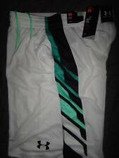 UNDER ARMOUR BASKETBALL PERFORMANCE HEATGEAR SHORTS SIZE 2XL XL L MEN NWT $34.99