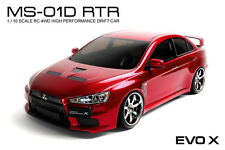 MST MS-01D 1/10 Scale 4WD RTR Electric Drift Car (2.4G) EVO X (Red) #531004R