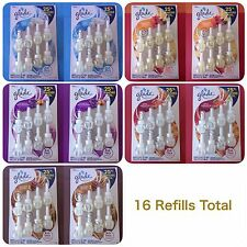 Glade Air Freshener Plugins Scented Oil 8 Refills .84oz Each 16 Refills Total