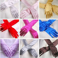 Wedding Opera Gloves Costume Satin Long Gloves New Evening Party Prom Bridal