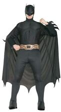 BATMAN Deluxe Adult Men's Halloween Costume Batman Begins M L XL Muscle Chest +