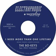 """I Need More Than One Lifetime [7"""" VINYL] The Bo-Keys Featuring Percy Wiggins Vin"""