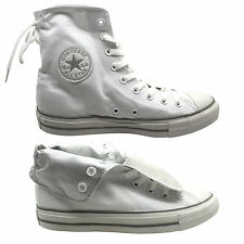 Converse Chuck Taylor Slouchy Hi Top Womens Roll top Trainers White 531909 (U59)