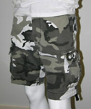 Mens Army Outdoor/Camp/Fish Cargo Shorts -City Camo