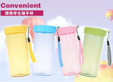 Portable Bottle Water Cup Sport New Travel Bottle 350ML Juice Color HOT