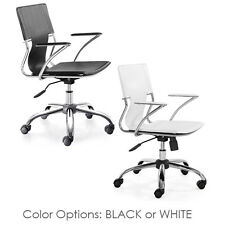 Trafico Office Chair ZUO Modern Office Chair Mid Back Ergonomic Task Chair