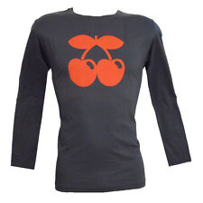 OFFICIAL Pacha Ibiza: Contrast Cherry Tone Logo Mens Long-Sleeved Tshirt RRP £60