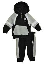 US Polo Assn Toddler Boys Hoodie 2pc Sweat Pant Set Size 2T 3T 4T $42