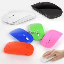 Slim 2.4GHz 1600 Dpi Wireless Optical Mouse Mice USB Receiver for PC Laptop UTAR