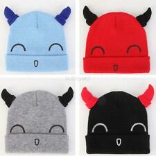 Cute Toddler Baby Boy Girl Warm Hat Infant Kids Unisex Soft Knitted Cap Hats