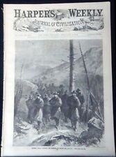 HARPERS WEEKLY 1864 FEB 20 GEN GRANT CUMBERLAND MTNS COLTS ARMORY VALENTINES