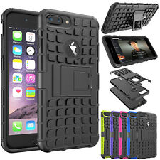 Armor Hybrid Defender Rugged Shockproof Kickstand Case Cover for iPhone 7 Plus