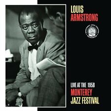 Live At The 1958 Monterey Jazz Festival Louis Armstrong Audio CD