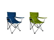Ozark Trail Folding Chair Green Blue Beach Camping Picnic Lawn Travel Outdoor