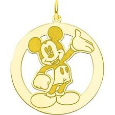 Gold Plated SS Disney Mickey Mouse Charm Jewelry