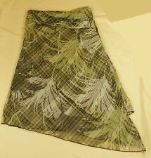 Mexx Summer Skirt Ladies green patterned size XS M New previously