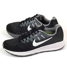 Nike Wmns Air Zoom Structure 20 Black/White-Cool Grey Running Shoes 849577-003