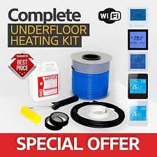 Electric underfloor heating loose cable kit 1.0-1.2m2