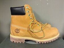 Timberland Mens 6 Inch Double Sole Premium WHEAT Leather Work Boots Style 10061