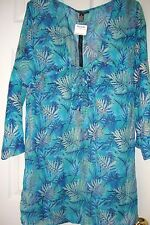 BRAND NEW CLUB Z COLLECTION SWIMWEAR DRESS-TUNIC-COVER-UP SIZE M