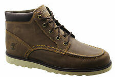 Timberland Earthkeepers EK Newmarket Wedge Mens Boots Brown Leather 6764A D83