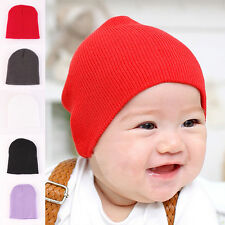 Baby Cotton Hat Girl Boy Toddler Infant Beanie Kids Knitted Crochet Cap Hot Sale
