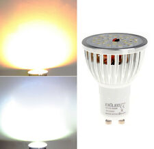 Aluminum 220V AC GU10 470-LM 15W 25 SMD 2835 LED Spot Bulb Lamp Warm Cool White