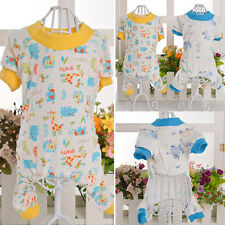 Cotton Pajamas Small Dog Soft Clothes Pet Jumpsuit Cute Shirt Coat Apparel New