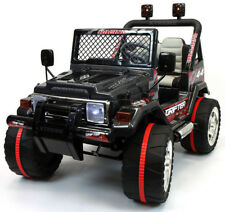 Kids Childrens Ride on Jeep 12v Off-Road Battery Powered Car Two Seater