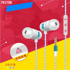 For iPhone iPod Samsung Stereo Headphone Earbuds Earphone Headset 3.5mm In-Ear