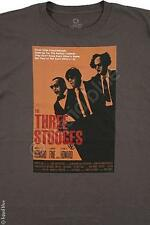THREE STOOGES-RESERVIOR STOOGES-MOE LARRY & CURLY-T-SHIRT M-L-XL-XXL