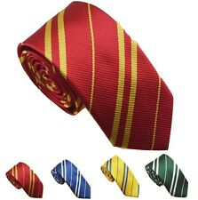 Harry Potter Tie RED GREEN BLUE YELLOW Costume Accessory Halloween NEW