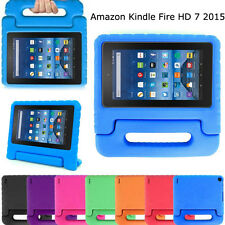 Portable Kids Shock Proof EVA Handle Case Cover for Amazon Kindle Fire HD 7 2015