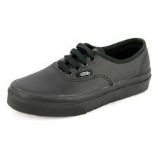 New Youth Vans Youth Authentic Leather Black Footwear Sneakers Shoes Runners