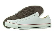 Converse All Star Chuck Taylor OX Leather 132173C White Shoes Medium (D, M) Mens