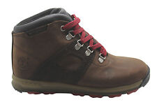Timberland Scramble Waterproof Youths Hiker Boots Brown Leather Hiking 4879R D31