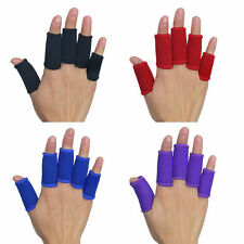 5pc Fashion Sport Finger Sleeve Support Protecters Basketball Volleyball Outdoor