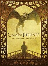 GAME OF THRONES SEASON 5, DVD, NEW AND SEALED, REGION 2