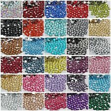 2000 Pcs Wholesale Crystal Flat Back Acrylic Rhinestones Gems 21 Colors 2mm