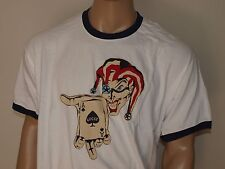 LUCKY BRAND Ace Of Spades T Shirt White NWT NWOT