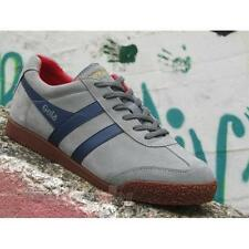 Shoes Gola Harrier CMA192PY207 US  Man Sneakers Suede Navy Sun Red Sport Fashion