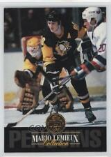 1993-94 Leaf Collection #5 Mario Lemieux Pittsburgh Penguins Hockey Card