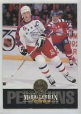 1993-94 Leaf Collection #7 Mario Lemieux Pittsburgh Penguins Hockey Card