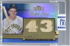 2012 Topps Tribute Debut Digits Relic Blue Encased #DD-RK Ralph Kiner Card