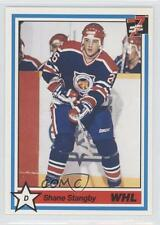 1990 7th Inning Sketch WHL #252 Shane Stangby Victoria Cougars (WHL) Hockey Card
