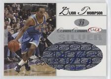 2005 Sage Autographs Silver #A21 Dijon Thompson UCLA Bruins Auto Basketball Card