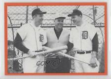 1983 Homeplate The Al Story #22 Kaline Jim Campbell Norm Cash- 1962 Cash Card